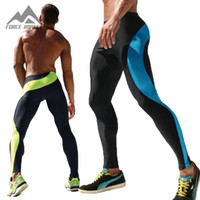 Wholesale Men s Long Sexy Tight Pants Ankle Length Trousers Casual Elastic Slim Fitted Sweatpants Skinny Crossfit Pro Workout Pants AQ17