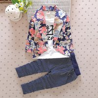 bc clothing - BC New Children s Clothing Boys Clothing Sets Floral Baby Boy Sets Kids Spring Clothes
