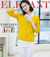 Wholesale Pure wool of new fund of autumn outfit exquisite v neck twist sweater