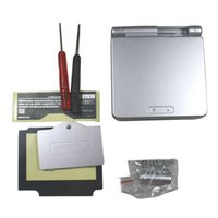 Wholesale Silver Full Housing Shell Case Cover Replacement for Nintendo GBA SP Gameboy Advance SP