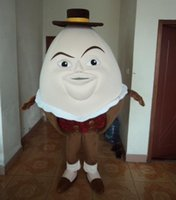Wholesale a hot sale an adult humpty alexander dumpty mascot for adult to wear for sale for party