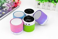 Wholesale XC001 Mini Bluetooth Speaker Handfree Mic Stereo Portable Speakers TF Card Call Function No Logo In Retail Box