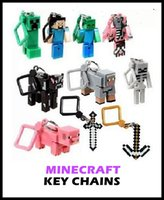 backpack keychains - 30p minecraft hanger creeper action figure minecraft keychain minecraft Backpack Keychains minecraft iron golem key chain
