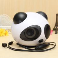 best desktop speaker - universal Cute Panda Shape usb Portable Mini Stereo Speaker for Desktop Laptop Notebook Cellphone best quality price