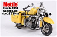 Wholesale Vogue nostalgic do old tin color model of the motorcycle
