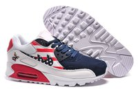 tennis shoes - Max running Shoes Mens and woman Max American Flag Limited Edition Shoes Trainers Tennis Jogging Shoes MAX90