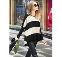 Wholesale Autumn Fall Women Big Baggy Knitting Sweater Casual Loose Pullover Jumper Top Hi Low Batwing Long Sleeve Poncho