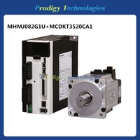 Wholesale MHMJ082G1U MCDKT3520CA1 kw rpm High Inertia A5II All in one type AC Servo Motor with Servo Drive