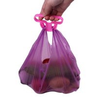 Wholesale Creative convenient bag hanging quality mention dish carry bags save effort g Kitchen Gadgets Silicone kitchen accessories