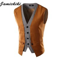 Wholesale High Quality Men s Suit Vests New Fashion Men s Leisure Clothing Suit for Wedding Banquet Gentleman Wear Men Casual Outwear
