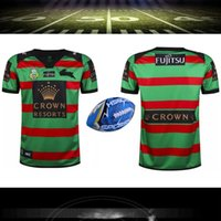 Wholesale big size S XXXL South Sydney rabbit NRL rugby jersey Top Thailand quality Australia South Sydney hare Rugby Shirts