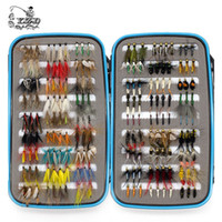 bass fishing kit - Promo Classic Wet Dry Fly Fishing Flies Set Kit Tying Material Lure Nymph for Trout Bass Pike Carp Assort Selections