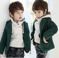 Wholesale Winter children s clothing boys corduroy blazer children outerwear coats kids baby clothing