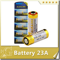 alkaline batteries packs - 5pcs card retail packing V alkaline primary battery model A A23 AE for doorbell alarm remote controller electrical devices