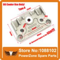 Wholesale Dirt Bike Pit Bike Monkey Bike cc cc cc cc cc Oil Cooler Aluminium Adapter Engine Cylinder Cover