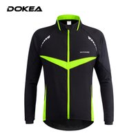 Wholesale Autumn Winter Outdoor Sport Jersey Long Sleeve Jacket Cycling Clothing Windproof Soft Shell Coat Jacket ciclismo Bicycle Clothes