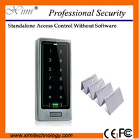Wholesale user smart proximity KHZ RFID card control reader M12 B with keyboard metal single access control security door lock