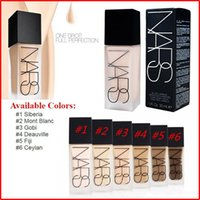 skin whitening cream - 2016 Makeup Face And Body Foundation NARS New Makeup All Day Luminous Weightless Foundation Liquid ml gift