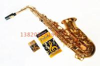 bb tenor saxophone - High Quality France Henri Selmer Bb Tenor Saxophone Instruments Super Action Series II Brass Gold Surface Saxophone