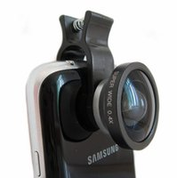 Cheap Best Outer Camera Phones 0.4 Times Ultra Wide Angle Aluminum Alloy Material Optical Glass Lens Mobile Phone Autodyne Outer Lens