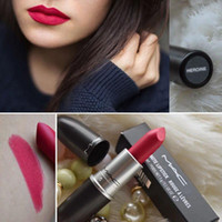 Wholesale 2016 Frost Lipstick HOT NEW M Makeup Luster Lipstick Frost Lipstick Matte Lipstick g colors lipstick with free DHLGuarantee
