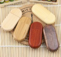 Wholesale Wooden personality creative gift customized wood USB flash drive u disk USB2 flash drive G GB GB GB