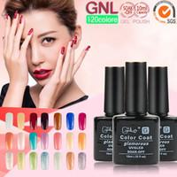 Wholesale LED UV Nail Polish Soak off UV Nail art Gel Temperature Change Color Gel Nail Polish GNL