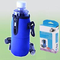 Wholesale 12V USB Bottle Warmer Travel Baby Kid Food Milk Bottle Heater in Car Blue Universal High Quality