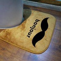 Wholesale cm bath mat bathroom rug mat set carpet floor rug toilet mats non slip colors available