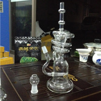 bar chamber - Thick Glass Water Pipes Sprinkle Tree Bars Recycler Oil rigs Chamber Bubbler Smoking Bongs Hookahs Shisha With Dry Herb Bow