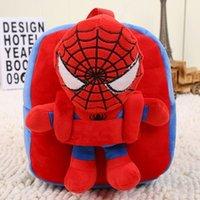 backpacks for preschool boys - Big Hero Kids Backpacks Toddler Backpack Children Bags Superman Batman Spiderman Captain America Preschool Backpacks for Boys