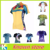 bicycle apparel women - Paladin new Women Cycling Jersey Cycle Short Sleeve Shirt Top Bicycle Top Bike Apparel yellow bike jersey