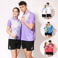 Wholesale C5 New casual sports ping pong jerseys speed dry volleyball table tennis clothing for man woman LN