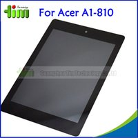 acer touch - For Acer Iconia Tab A1 A1 Tablet New LCD Display Touch Screen Glass Panel With Digitizer Assembly Tim05