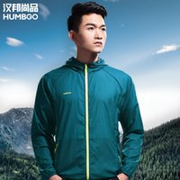 Wholesale 2016 New HUMBGO Quick drying Couples Summer Outdoor Hunting Climbing Shirt Women Men Quick Dry Fishing Shirts UV Sun Protection
