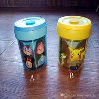 Wholesale Pikachu Insulation Lunch Box Cartoon Poke Tsum Stainless Steel Portable Children Kids meal box designs LJJO593