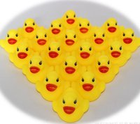 Wholesale Kids Pool Wholesalers - Hot Sale Baby Bath Water Toy toys for sale Sounds Yellow Rubber Ducks Kids Bath Children Swiming Beach Toys Gifts wholesale - 0011CHR