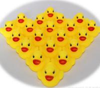 all'ingrosso giocattoli di gomma per i bambini-Vendita calda del giocattolo Acqua bagnetto bambino giocattoli in vendita Suoni anatre gialle di gomma bambini bagno dei bambini di nuoto Beach Toys regalo all'ingrosso - 0011CHR