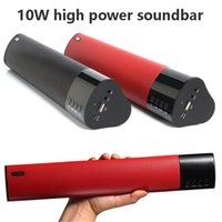audio woofer - New Arrival W Bluetooth Speaker High Power Woofer Stereo D Surround Sound Soundbar TF USB FM Radio Boombox For PC MP3 Phone