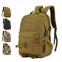adventure boy - School Backpacks Military Tactical Camouflage Army Nylon Outdoor Adventure Camping Travelling Assault Hiking Rucksack Back Pack