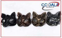 Wholesale STEAMPUNK MASKS CAT MASKS STEAMPUNK ELEMENTS HALF FACE FASHION MASQUERADE AND PARTY STEAMPUNK MASKS BEAUTIFUL COLORS ASSORTED