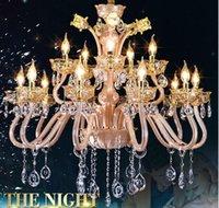 Wholesale 2016 Crystal chandelier Arms Luxury crystal light chandelier Fashion chandelier crystal light Modern chandelier light