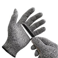Wholesale 2016 Cut Resistant Gloves Kitchen Gloves with Food Grade Level Hand Protection Light weight Work Gloves Safety Gloves