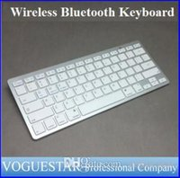 apple compatible keyboards - Wireless Bluetooth Keyboard Arabic Russian Korean Spanish Ultra Slim Aluminum ABS Compatible Apple Windows Android ipad and PC SMA003