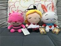 alice video - EMS Inch Design Alice in Wonderland Plush dolls toys cm children Alice Stuffed Animals cartoon soft Plush dolls toys