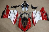 Wholesale 4 Free Gifts New Motor ABS Fairing kit Fit for DUCATI S S bodywork set white red black