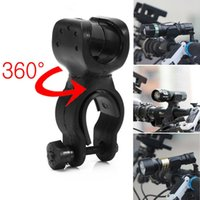 Wholesale 360 Multi function Bike Bicycle Mount Clip Clamp LED Flashlight Torch Holder