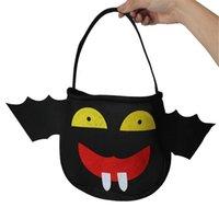 personalized bags - Halloween Cosplay Costumes Cartoon Plush Handbag Cute Candy Bag Personalized Little Devil Bag Kids Candy Handbag Prop