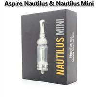 Wholesale Min Aspire Nautilus ml ml aspire Nautilus mini Adjustable Airflow Tank System with Pyrex Glass Tank VS Aspire Triton