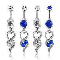 Cheap Heart-shaped Navel Rings Best Chic navel Rings